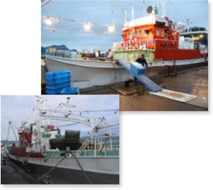 香住港 漁船